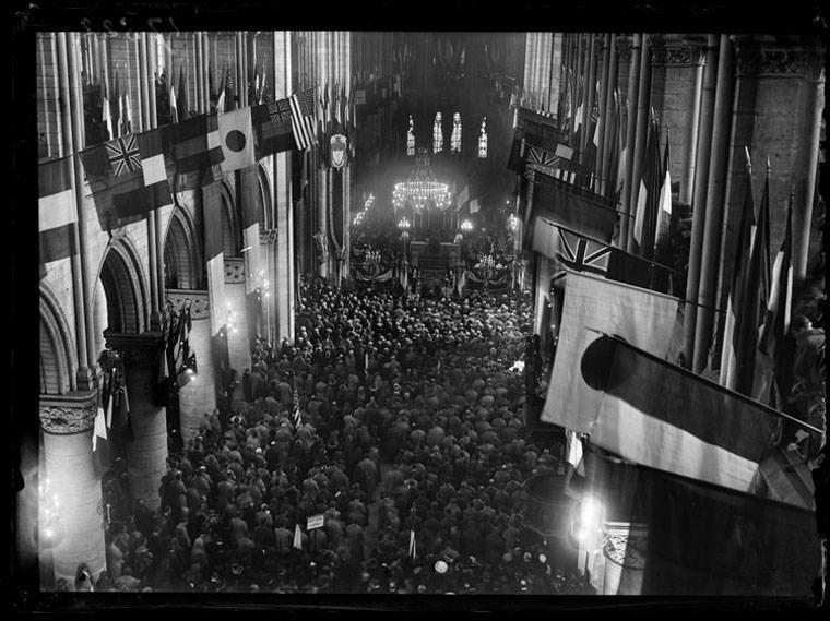 O ύμνος «Te Deum» μετά τη λήξη του Α΄ Παγκοσμίου Πολέμου