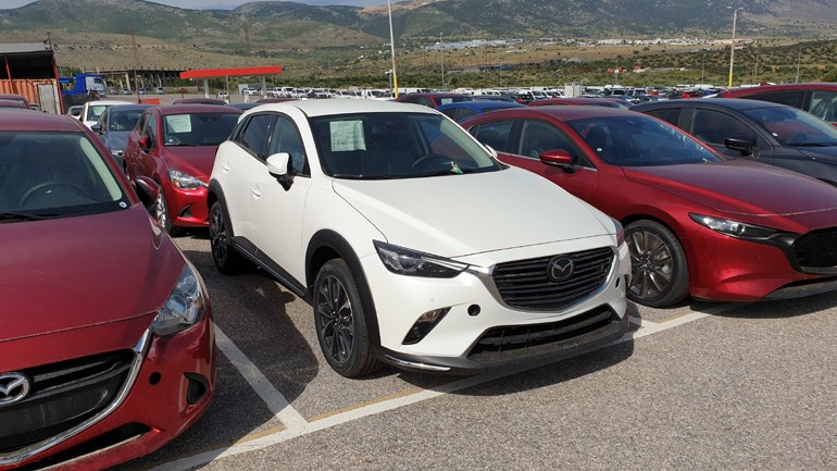 To Mazda CX-3