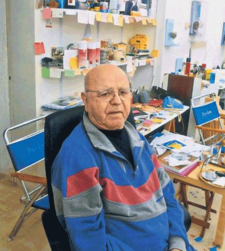 Πέθανε ο διεθνούς φήμης Mεσσήνιος εικαστικός Παύλος Διονυσόπουλος