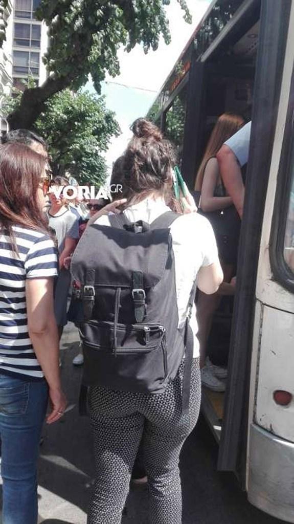 Οδηγός του ΟΑΣΘ κατέβασε τους επιβάτες έπειτα από καβγά με γυναίκα