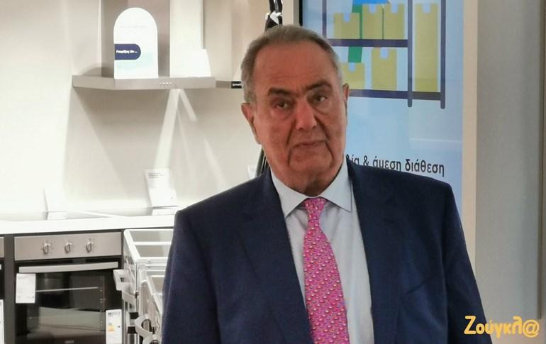 Ο κ. Γιώργος Γεράρδος, πρόεδρος και διευθύνων σύμβουλος του Πλαισίου