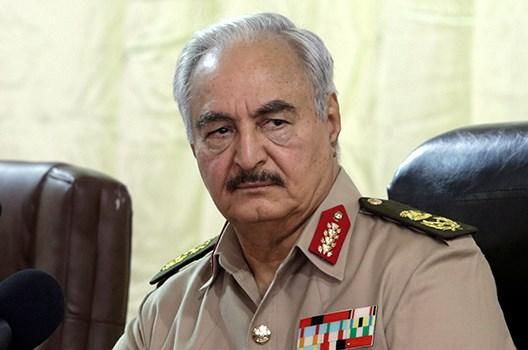 Ο στρατηγός Χαφτάρ