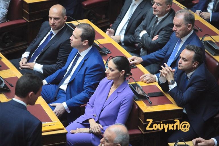 Η βουλευτής της ΝΔ Νόνη Δούνια