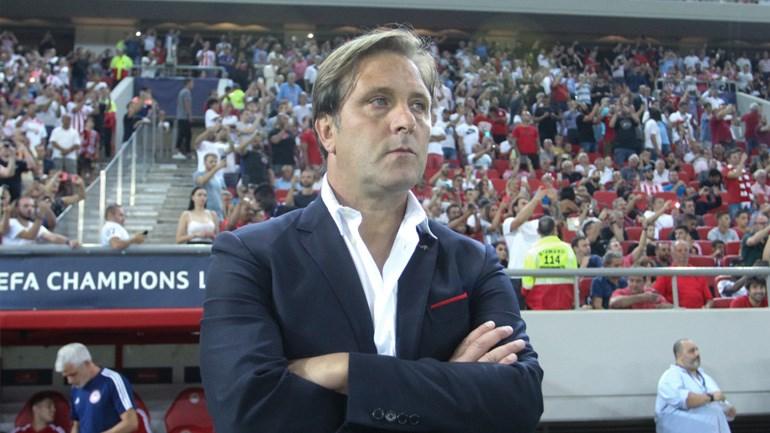 Ο προπονητής του Ολυμπιακού, Πέδρο Μαρτίνς