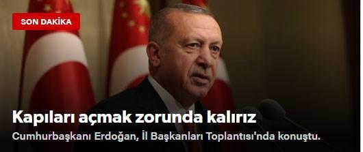 Yeni Safak: Θα αναγκαστούμε να ανοίξουμε τις πόρτες