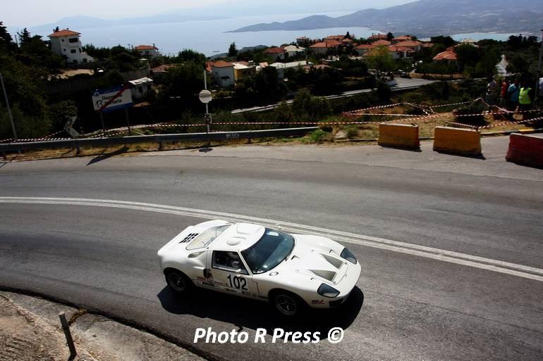 O Αλέξανδρος Εδιπίδης με το πανέμορφο και σπάνιο Ford GT40