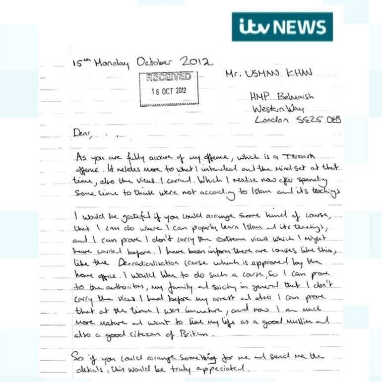 Η επιστολή του δράστη της επίθεσης στη Γέφυρα του Λονδίνου