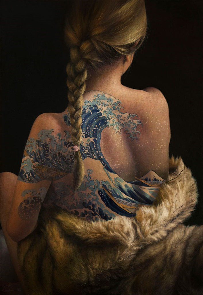 Δεν είναι τατουάζ, είναι πίνακες ζωγραφικής
