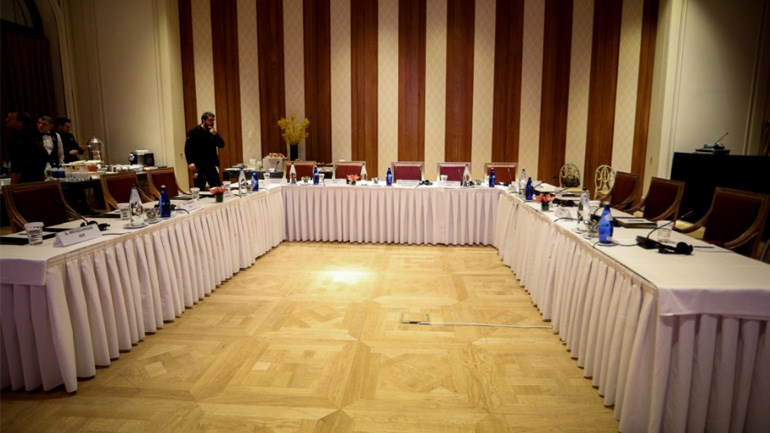 """Η αίθουσα της συνάντησης των """"Big 4"""""""