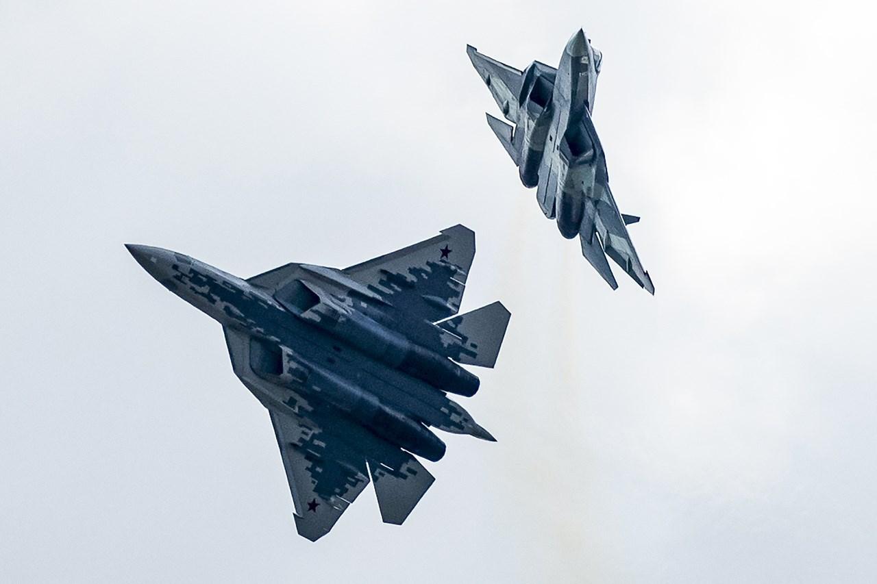 Ρωσικά αεροσκάφη Sukhoi Su-57