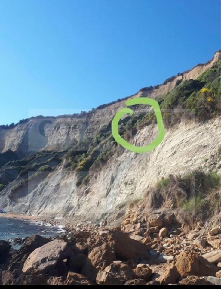Το σημείο όπου βρισκόταν η σπηλιά που κρυβόταν ο 47χρονος