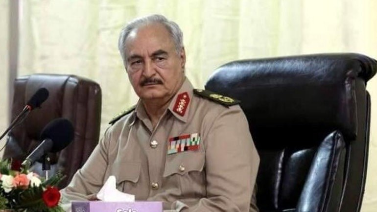 Ο στρατάρχης Χαλίφα Χαφτάρ