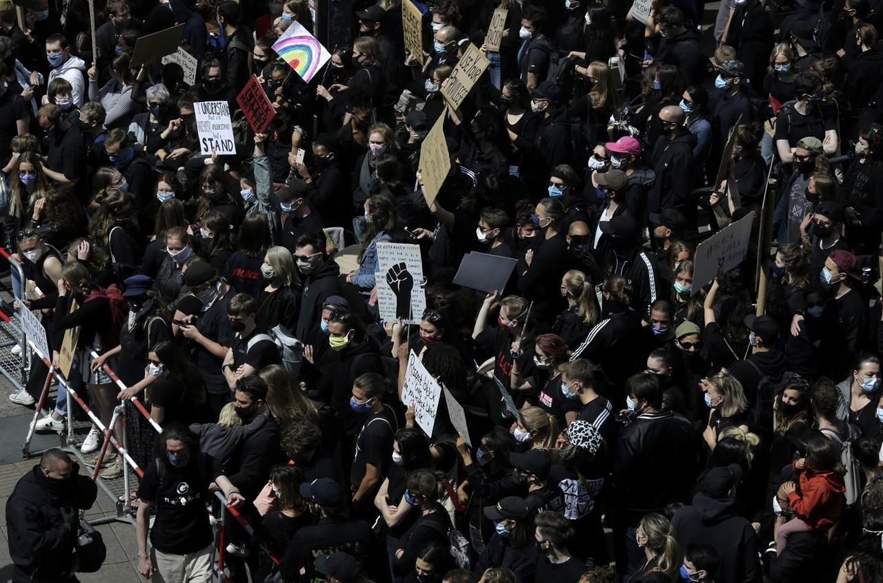 Μεγάλη διαδήλωση στο Βερολίνο