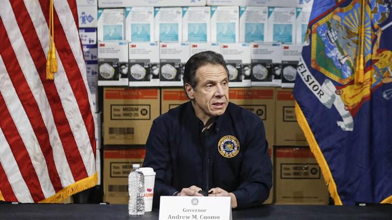 O κυβερνήτης της Νέας Υόρκης, Άντριου Κουόμο