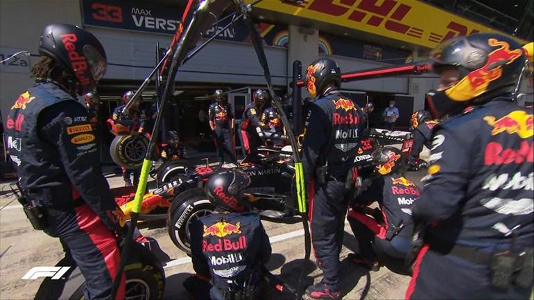 Εκτός αγώνα τέθηκε από νωρίς ο Verstappen που θα μπορούσε να διεκδικήσει ακόμα και τη νίκη...