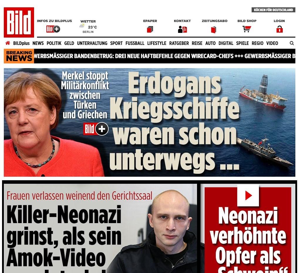 ΓΕΕΘΑ: «Η κατάσταση στο Αιγαίο παραμένει αμετάβλητη» - Bild: Η Μέρκελ απέτρεψε τη σύρραξη μεταξύ Ελλάδας και Τουρκίας | ΕΘΝΙΚΑ ΘΕΜΑΤΑ | Ορθοδοξία | orthodoxia.online | ΓΕΕΘΑ |  Bild |  ΕΘΝΙΚΑ ΘΕΜΑΤΑ | Ορθοδοξία | orthodoxia.online