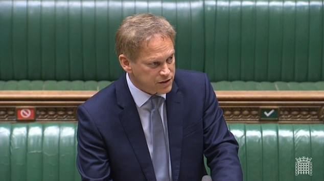 γραμματέας Μεταφορών της Βρετανίας, Grant Shapps