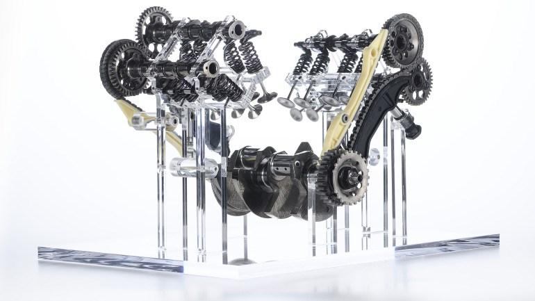 Ένα σύστημα βαλβίδων με ελατήρια προσάρμοσε η Ducati στον V4 Granturismo.