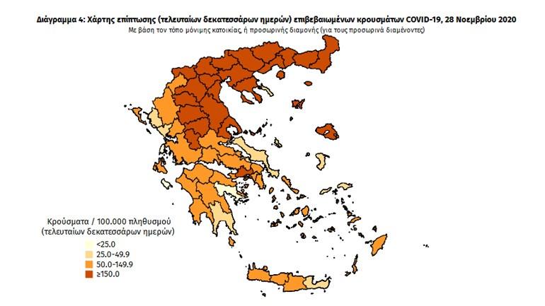 ΕΟΔΥ: 121 νέοι θάνατοι από COVID-19 - Στους 606 οι διασωληνωμένοι   Ελλάδα   ΕΟΔΥ   COVID-19   Ελλάδα   Ορθοδοξία   online