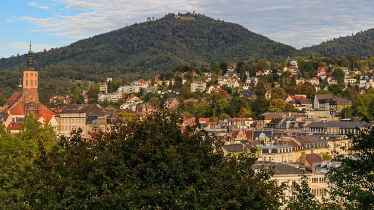 Χαρακτηριστική φωτογραφία από το Baden Baden της Γερμανίας