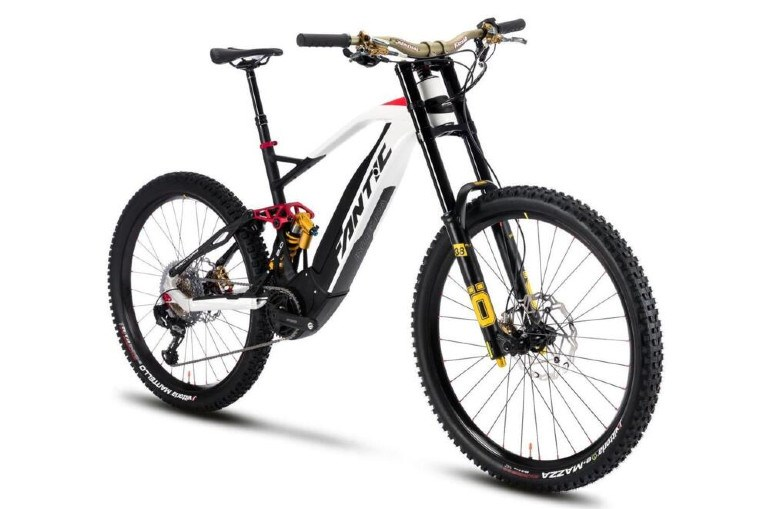 The top Enduro with Ohlins suspensions