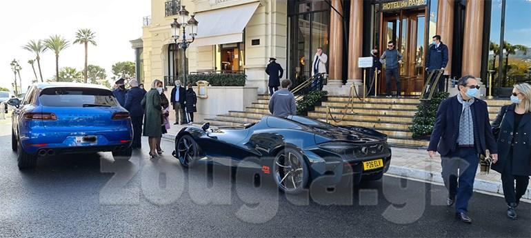Ακόμα και στο Μονακό ένα τέτοιο αυτοκίνητο δεν περνά απαρατήρητο...