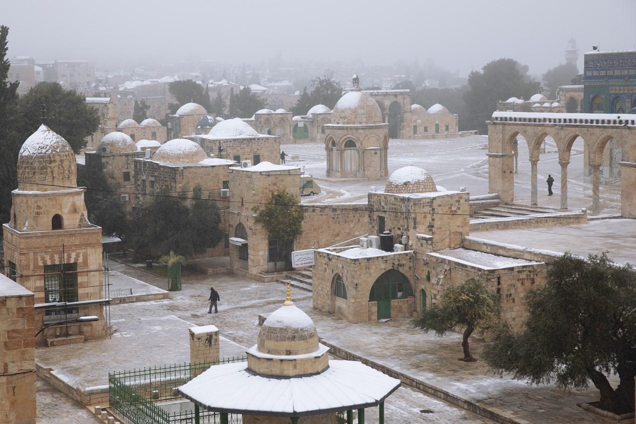 Αποτέλεσμα εικόνας για Στα λευκά η Ιερουσαλήμ