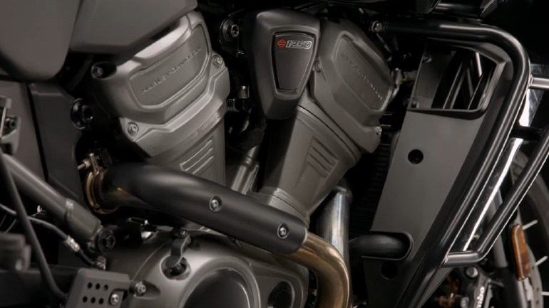 New Revolution Max 1250 engine with 150 hp.