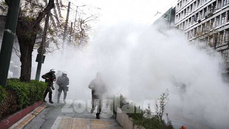 Επεισόδια στο κέντρο της Αθήνας | orthodoxia.online | κουφοντινασ | αθηνα | Ελλάδα | orthodoxia.online