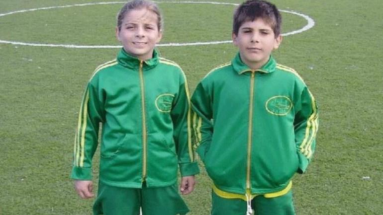 H Bεατρίκη Σαρρή όταν έκανε τα πρώτα της ποδοσφαιρικά βήματα στα Χανιά.