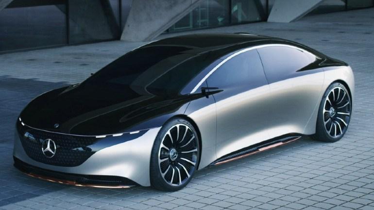 Εικόνα από το concept της Mercedes πριν πάρει την πραγματική του μορφή.
