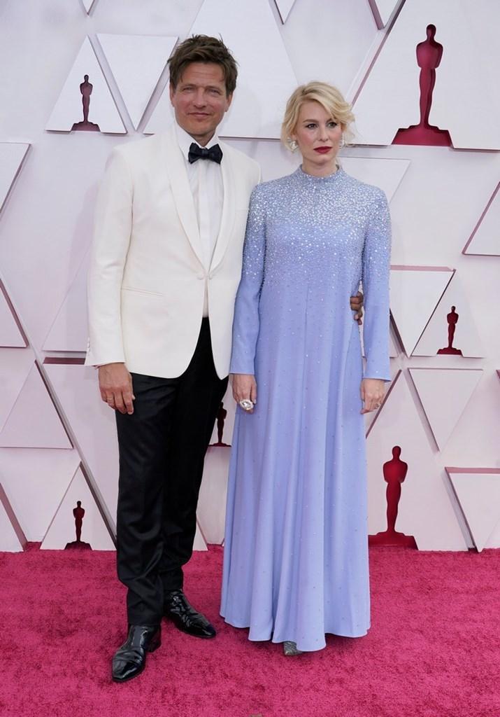 Ο σκηνοθέτης Thomas Vinterberg και η σύζυγος του Helene Reingaard Neumann.