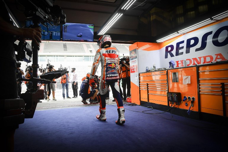 Marquez is back!