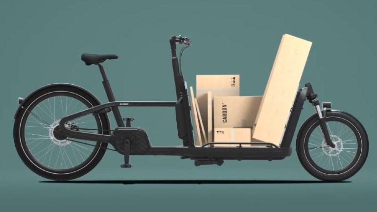 Εμπορεύματα και κούτες μπορούν να μεταφερθούν πλέον με ποδήλατο!