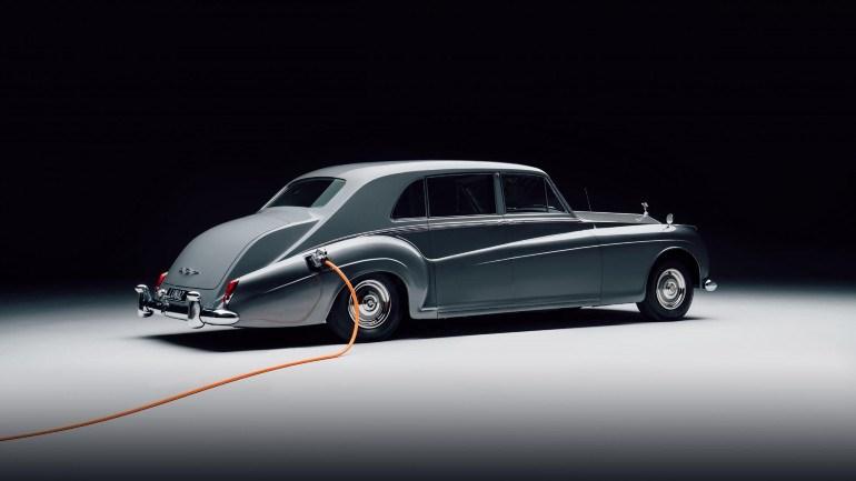Η εντυπωσιακή Rolls Royce Phantom της Lunaz.