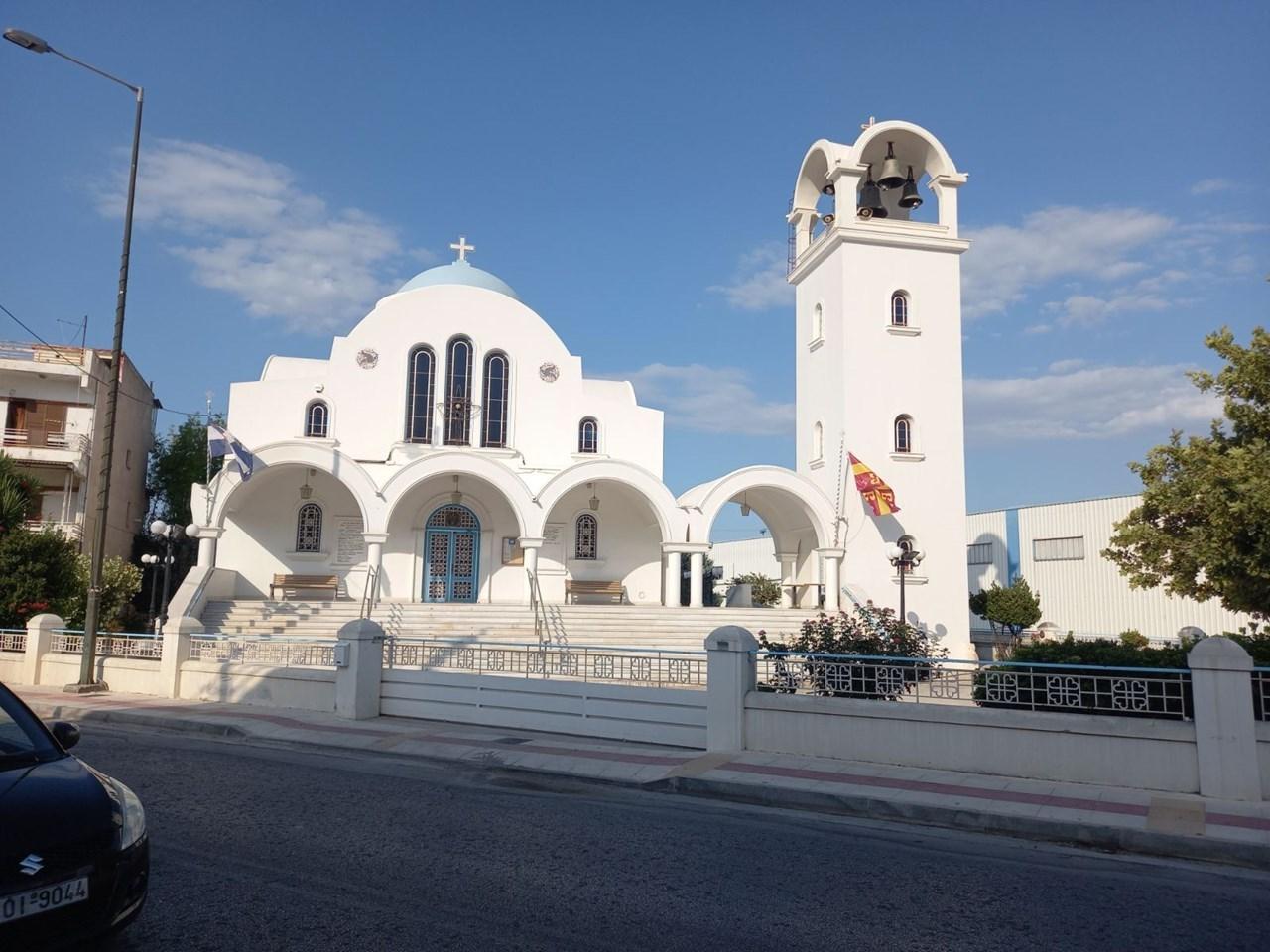 Ο ναός του Αγίου Γεωργίου στο Βέλο Κορινθίας