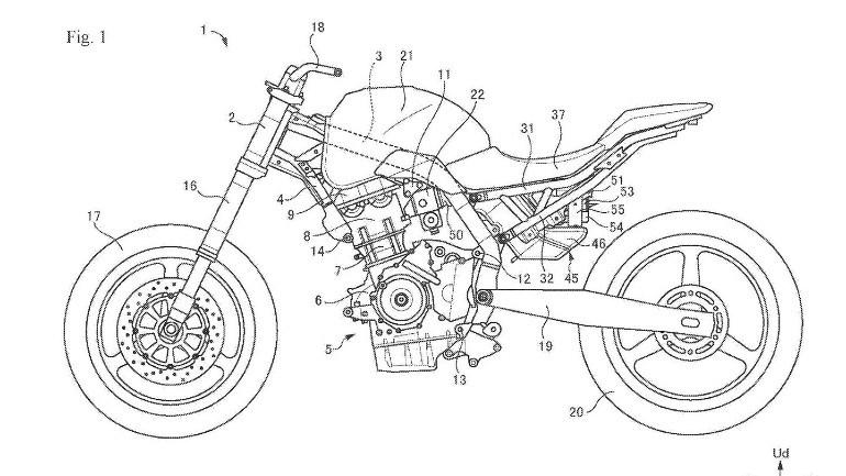 Αυτό είναι ένα από τα καινούρια σχέδια που διέρρευσαν στο διαδίκτυο με το project της Suzuki.